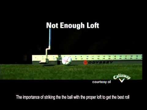 Phil Mickelson talks about optimum roll with the putter
