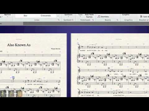 Centered Grand Pause ( G.P. ) Text in Sibelius - Symbols Method