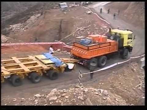 Heavy Transport from Arica (Chile) to Santa Cruz (Bolivia) GE No Mountain Too High