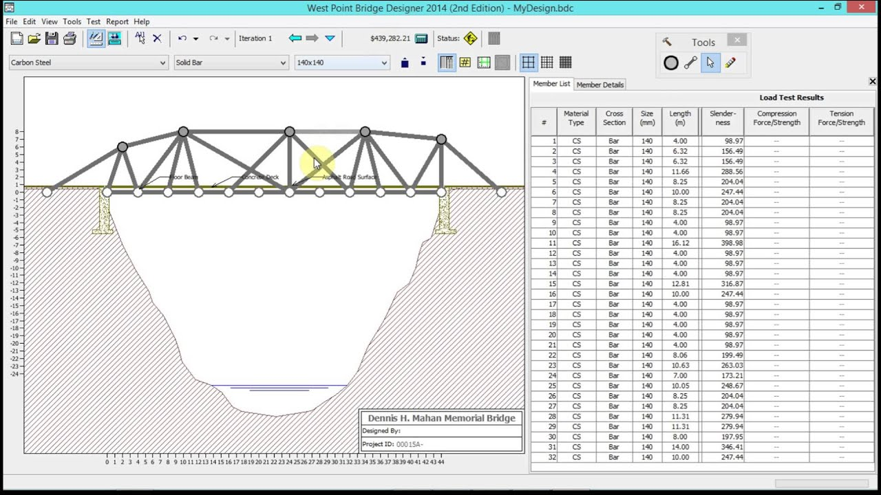 Bridge Design Report