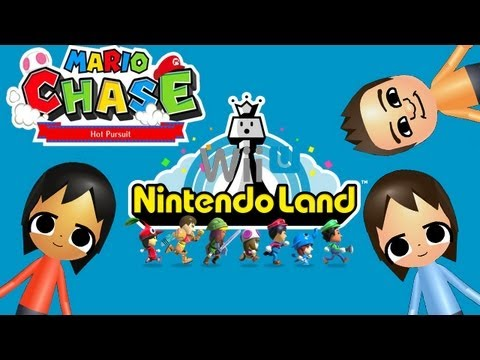 Nintendo Land: MARIO CHASE GAMEPLAY!! HD