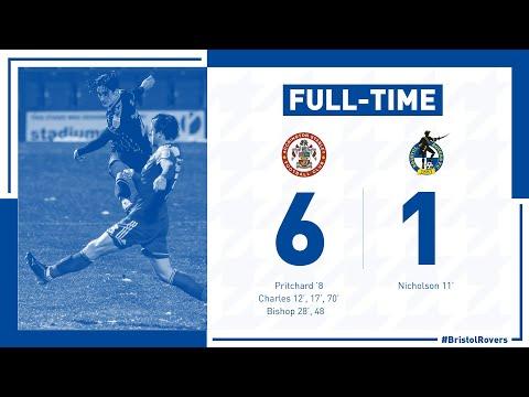 Accrington Bristol Rovers Goals And Highlights