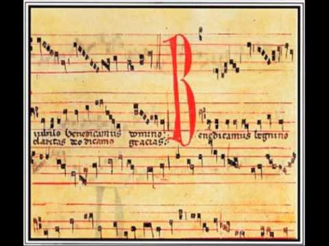 Codex Las Huelgas: Crucifigat omnes (Conductus) (Folio 97 recto - 97 verso)