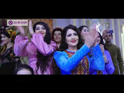 A.Gulmeshow Azat Donmez Turkmen Toyy Wedding Day Gowher Hajymyradowa
