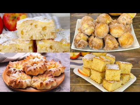 4 Sweet and delicious apple recipes