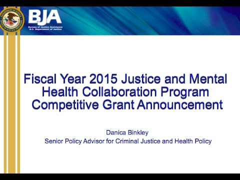 Responding to the 2015 JMHCP Solicitation