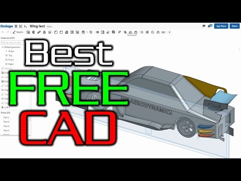 What Is The Best Free Cad Software For Racecar Engineering Youtube