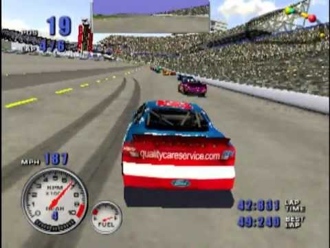 Nascar 2001 Ps2 Gameplay Youtube