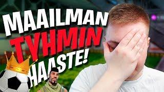 MAAILMAN TYHMIN HAASTE | Fortnite Suomi