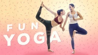 Fun Yoga Routine for Flexibility with Jackelyn Ho