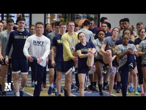 Navy Track and Field Anticipates Army