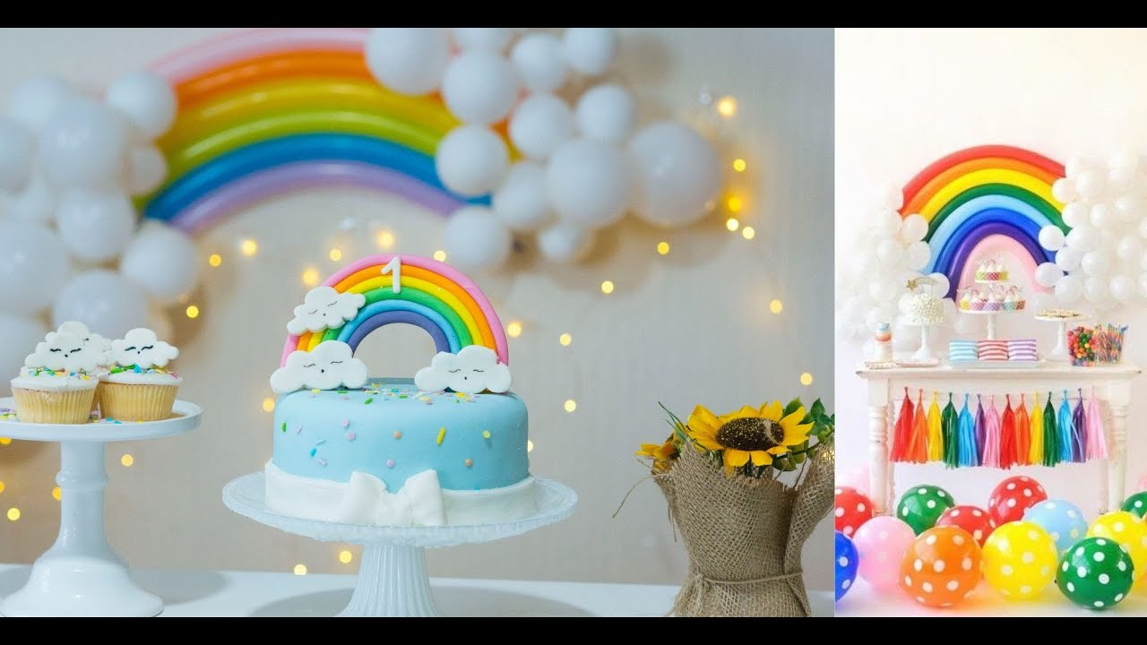 3 Quick Easy Baby Boy Girl Diy Birthday Decor 1st Birthday Diy Decor Simple Baby Shower Decor Youtube