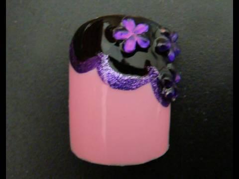 Fancy Toe Nail Design Youtube