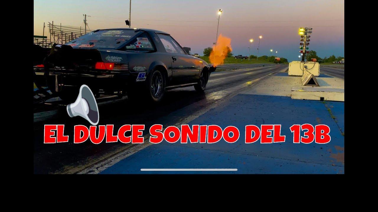 RX7 de Carreras prohibidas Discovery Turbo( Encendido Pregrabado en vivo ) #1320video #StreetOutlaws