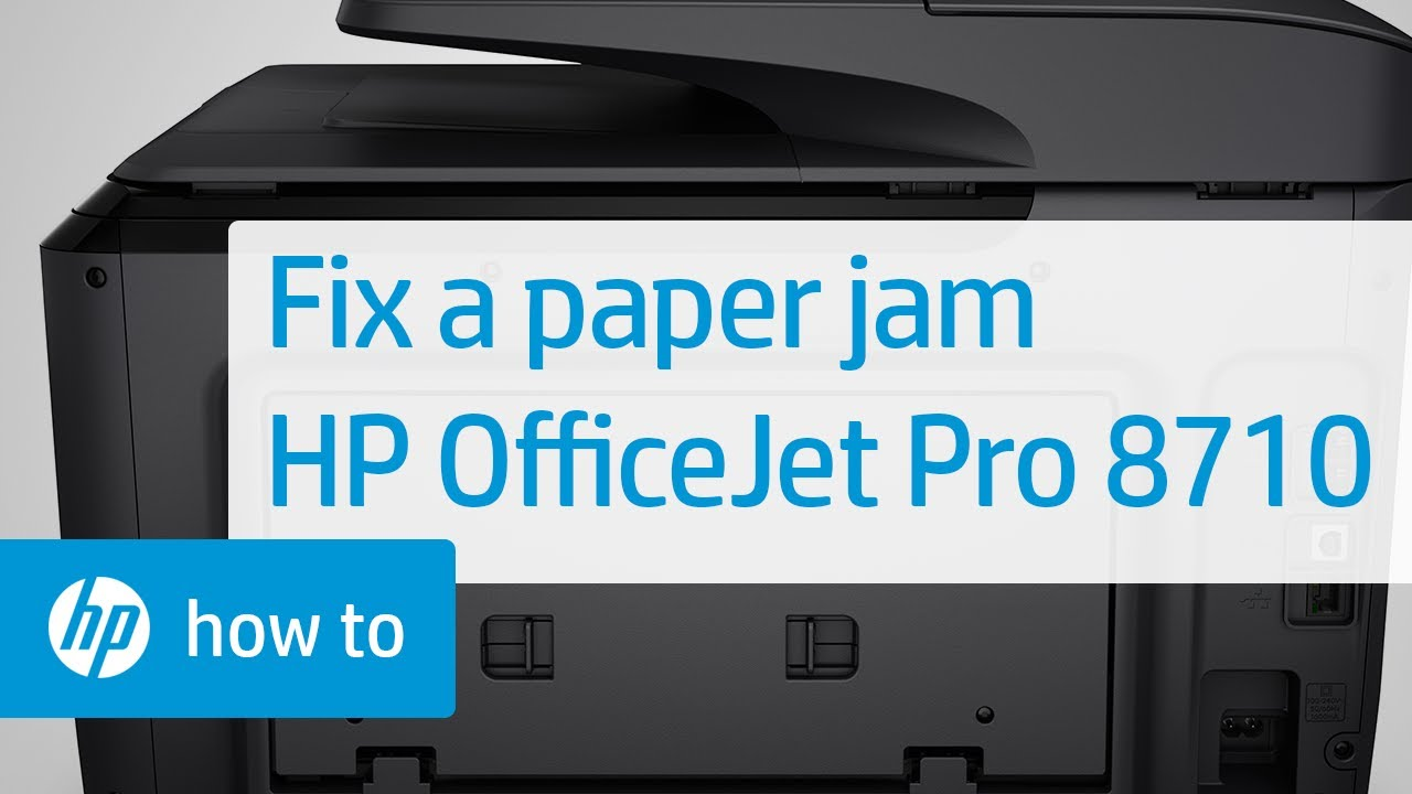 How-to Clear a Paper Jam in a Printer