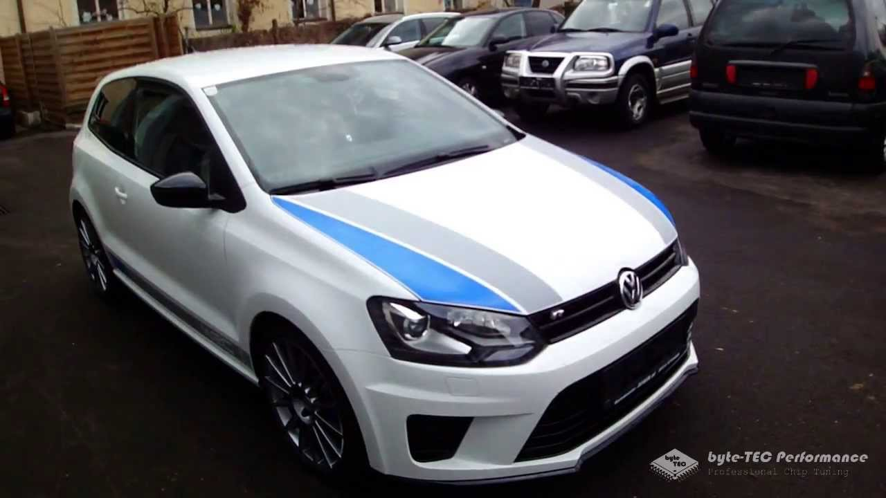 vw polo r wrc chip tuning byte tec performance youtube. Black Bedroom Furniture Sets. Home Design Ideas