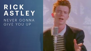Rick Astley - Never Gonna Give You Up(Rick Astley - Never Gonna Give You Up (Official Music Video) - Listen On Spotify: http://smarturl.it/AstleySpotify Download Rick's Number 1 album