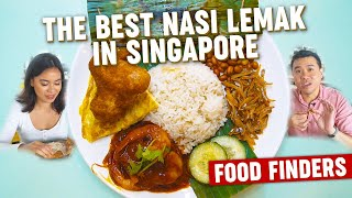 The Best Nasi Lemak in Singapore: Food Finders EP8