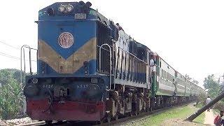 Ekota Express: Dhaka to Dinajpur Luxurious Train Bangladesh Railway