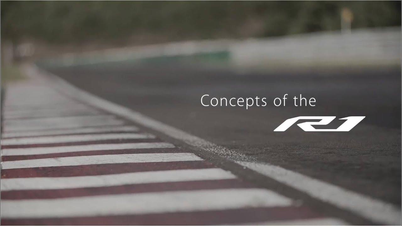"""画像: YZF-R1 """"Concepts of the New R1"""" www.youtube.com"""