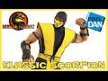 Scorpion Mortal Kombat Klassic Storm Collectibles 1/12 Action Figure Video Review