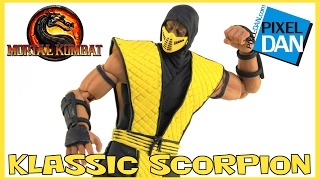Scorpion Mortal Kombat Klassic Storm Collectibles 1/12 Action Figure Video Review