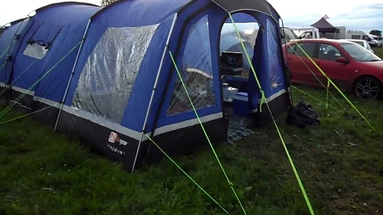 Hi Gear Mojave 5 Tent with Porch Extension.MP4 - YouTube & Hi Gear 6 Man Tent u0026 COLEMAN MONTANA 8 TENT