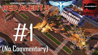 command and Conquer: Red Alert 3 Walkthrough  Hard - Allied Mission 7  Tokyo 1080p