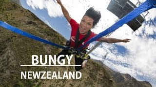 Nevis Bungy Jump, New Zealand - SORRY MUM