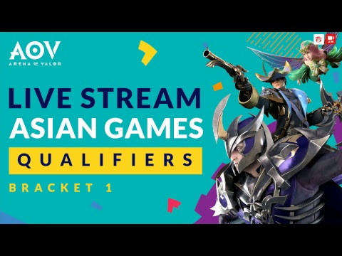 Asian Games Qualifiers  Garena Aov Arena Of Valor Youtube