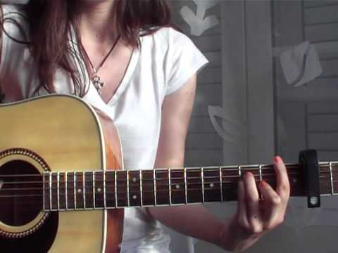 Just A Kiss by Lady Antebellum (cover) + Guitar Chords