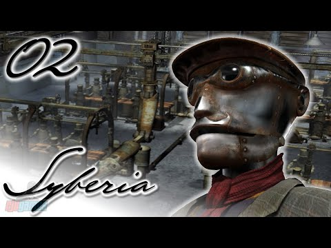 FACTORY - Let's Play Syberia Part 2 | PC Game Walkthrough | 60fps Gameplay