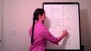 Учим английскую транскрипцию - согласные