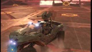 Halo 3-Last mission Warthog Run on Legendary NO DEATHS