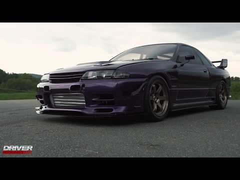 1989 Purple 567WHP RB28 Widebody R32 Skyline from Driver Motorsports