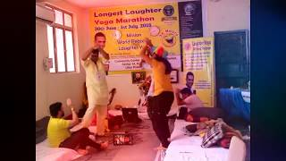 India breaks the Guinness World Record (Longest Laughter yoga Marathon 36 hours o2 minutes ) by Dr.H
