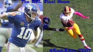 Eli outdoes RG3, Texans throttle Ravens, Pats beat Jets in OT-The NFL Final Score