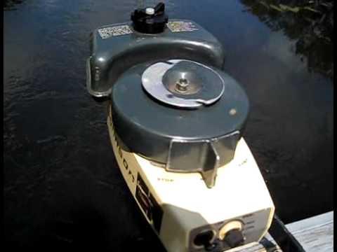 Johnson 1 5 Hp Outboard Motor Youtube