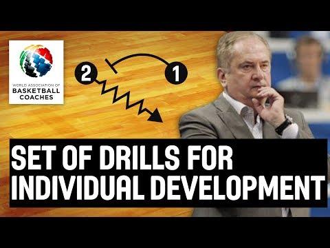 Set of Drills for Individual Development - Boza Maljkovic - Basketball Fundamentals