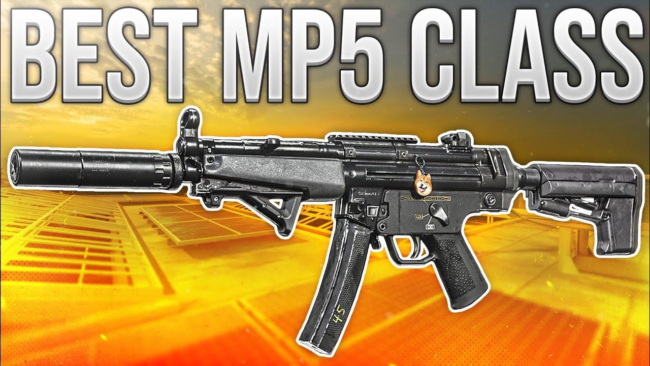 Warzone In Depth Best Mp5 Loadout Youtube