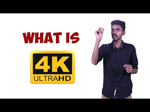 What is 4k resolution?