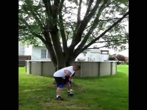 john cottrell - strongman practice