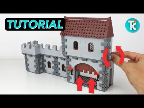 LEGO Castle Gate (Part 3 Tutorial)