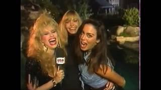USA Up All Night 93 36 Rhonda Shear Playboy Mansion Adventure