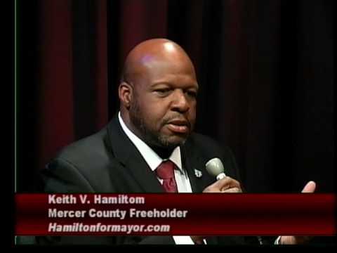 Adam talks with Trenton NJ mayoral candidate  Keith V. Hamilton