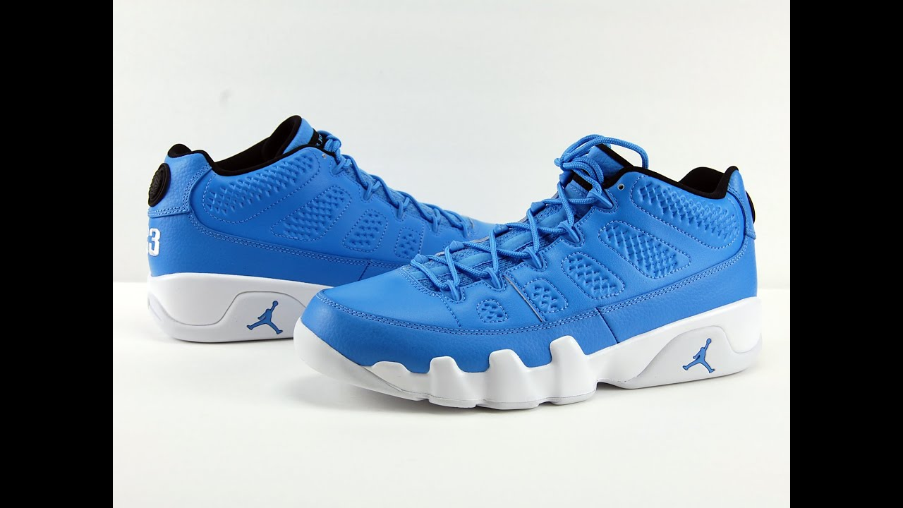 the best attitude 1d12a d11e3 Air Jordan 9 Low Pantone Review