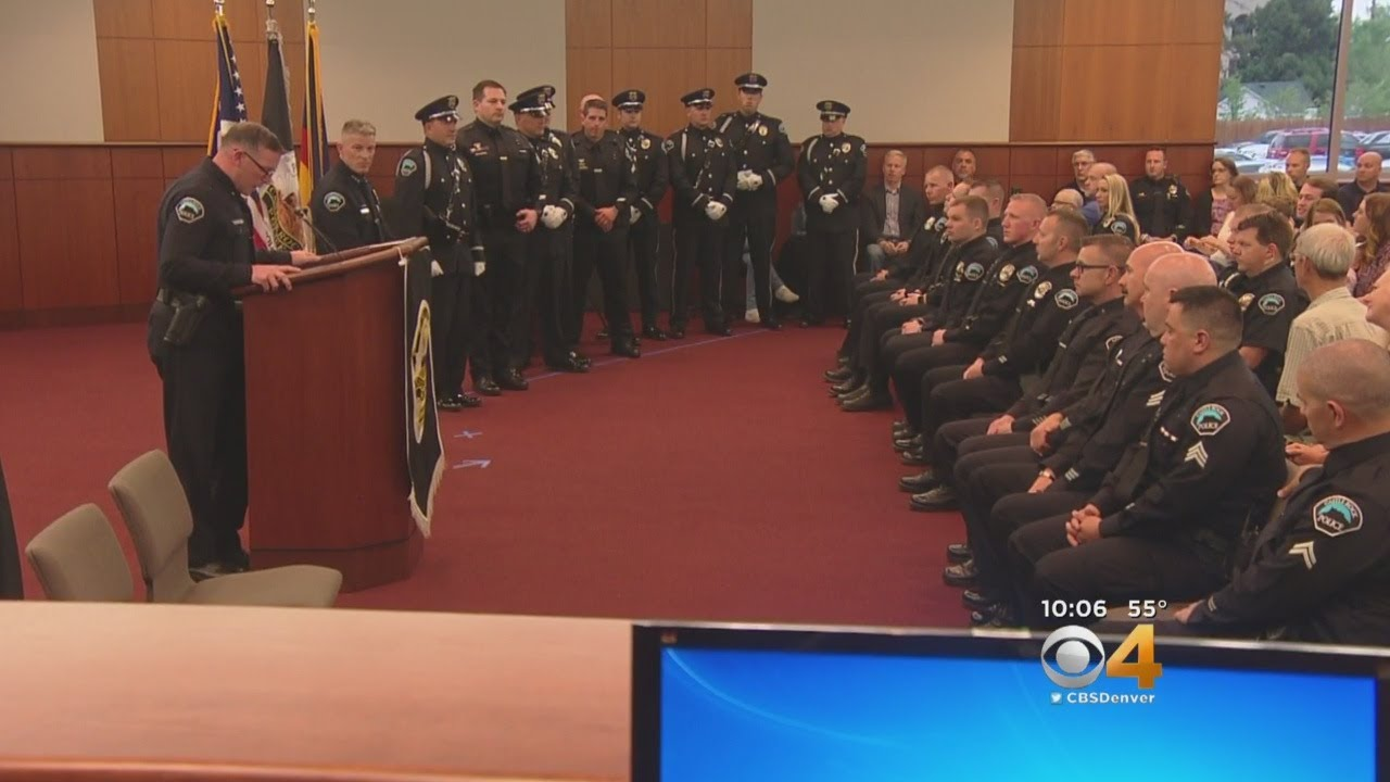 Castle Rock Police Officers Honored For Service