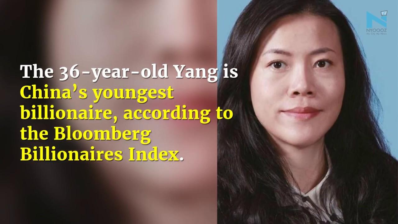 China's youngest wealthiest billionaire, Yang Huiyan