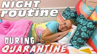 Night Routine on Quarantine - I WILL Eat Cake!