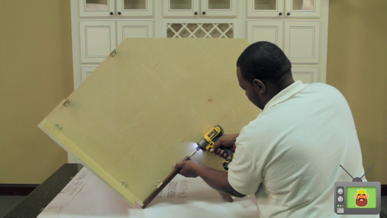 how to assemble lazy susan cabinets from kitchen cabinet kings